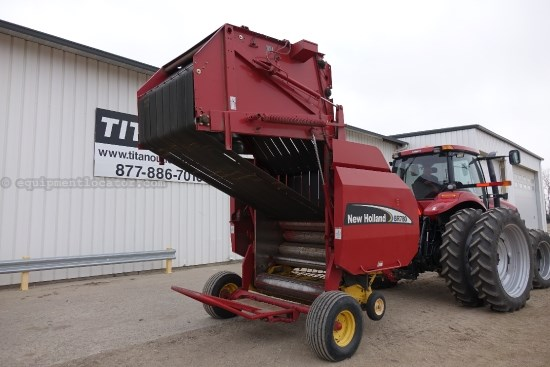 2005 New Holland BR780, Hyd Tension/PU Lift, Monitor, Counter, 5X6 Baler For Sale