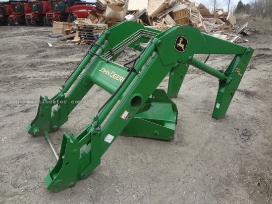 2005 John Deere 740 - 7810 Quick Attach Mounts, NO Bucket Front End Loader Attachment For Sale