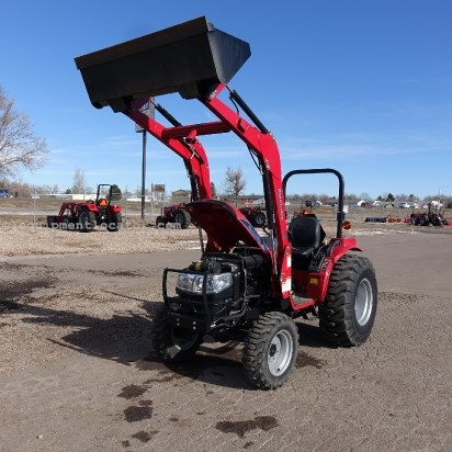 2012 Mahindra 3616G - 17 hrs, Loader/Bucket, 36 HP Tractor For Sale