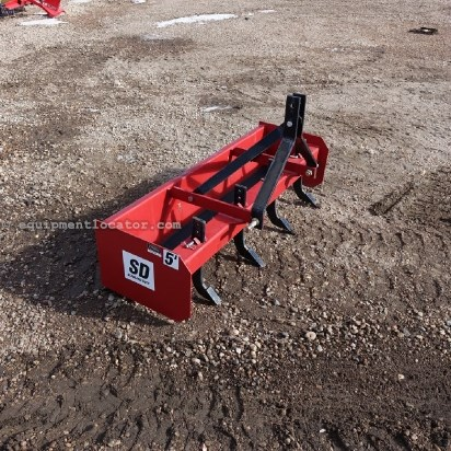 2012 Mahindra BS5 - 5 ft, Scarifier, 3pt - Cat I Blade Rear 3pt For Sale