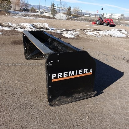 2012 Premier PB8 - 8 ft, Skid Steer Mount Snow Blade For Sale