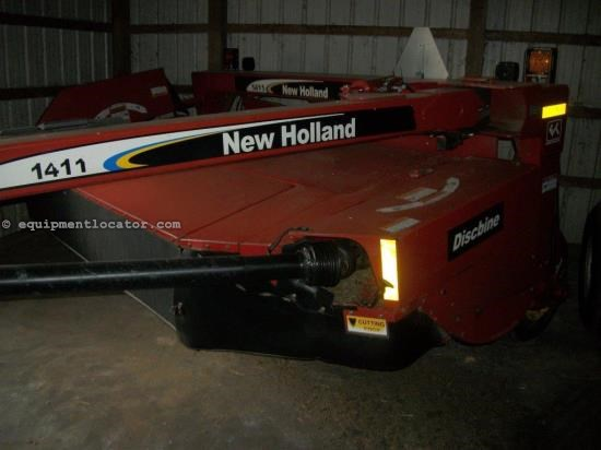 Disc Mower For Sale:  2002 New Holland 1411