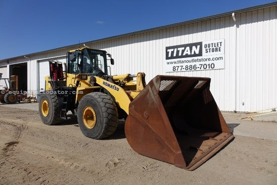 2009 Komatsu WA4506, Cab/Air/Heat, Cloth Air Ride Susp Seat Wheel Loader For Sale
