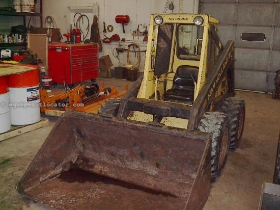 Skid Steer For Sale:  1987 New Holland L553