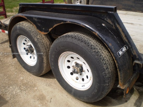 2011 Big Tow Trailers BL6D, Tandem axle trailer, 18' deck length Utility Trailer For Sale