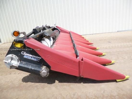 2005 Geringhoff RD830, Fits 7010/8010/7120/8120, Fluted Rolls,8R30 Header-Corn For Sale