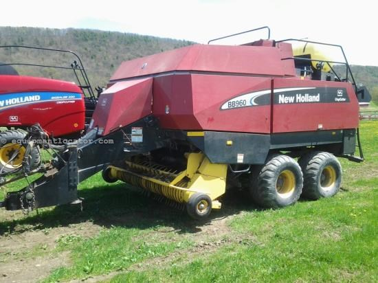 Baler-Big Square For Sale:  2004 New Holland BB960A