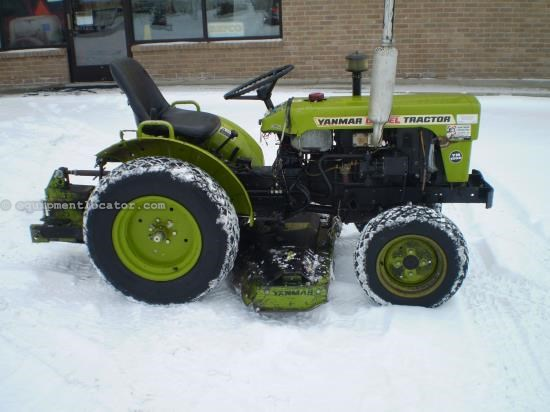 1978 Yanmar YM155D Tractors For Sale At