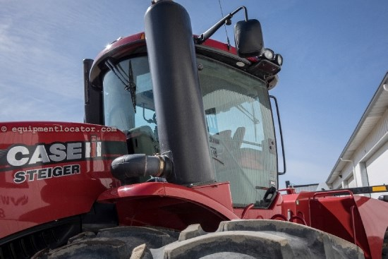 2012 Case IH Steiger STX550HD - 869 hrs, Cab Susp, AutoSteer Tractor For Sale
