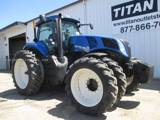 2012 New Holland T8360 - 248 hrs, 50 KPH, AutoSteer, Hi Flow Hyd Tractor For Sale