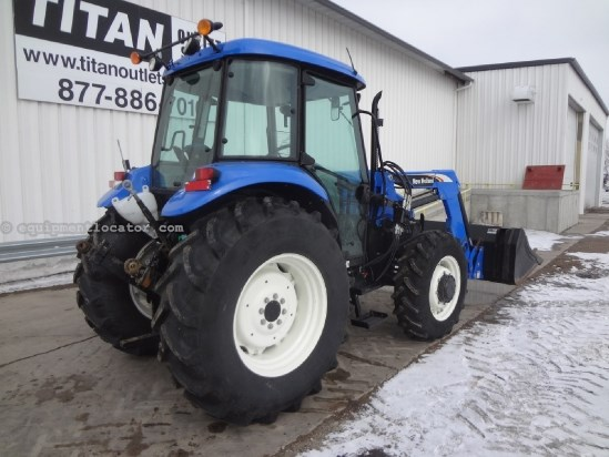 2010 New Holland TD5030 - 2128 hrs, 820TL Loader, 2 hyd Tractor For Sale
