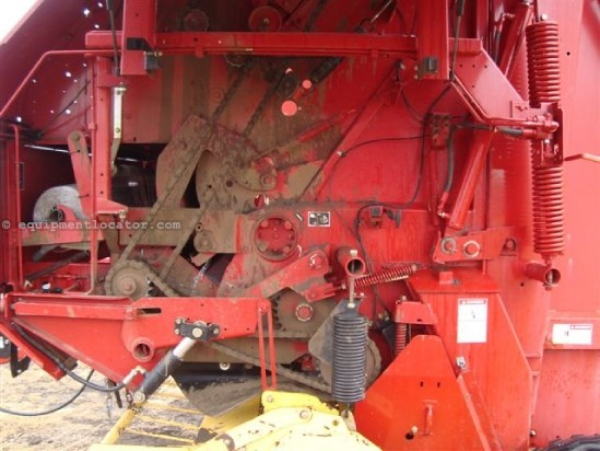 2006 New Holland BR780A, Net Surf Wrap, Counter, Auto Twine Wrap Baler-Round For Sale