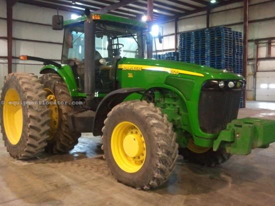 Tractor For Sale:  2004 John Deere 8320