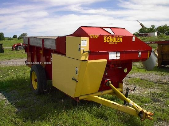 Feeder Wagon-Power For Sale:  Schuler 175BF
