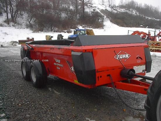 Manure Spreader-Dry/Pull Type For Sale:  2011 Knight