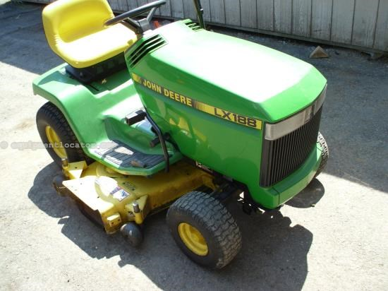 Riding Mower For Sale:  1998 John Deere LX188