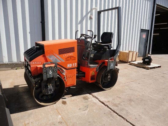 "2008 Hamm HD12, 47"" Smooth, Dual Drum, 6000lb Op Weight Compactor-Asphalt For Sale"