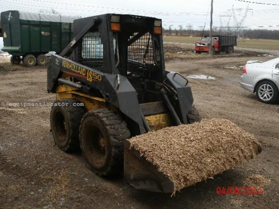 Skid Steer For Sale:  2001 New Holland LS150