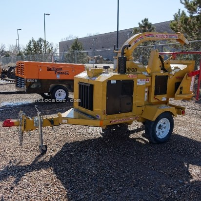 2011 Rayco RC814, Light Package, Safety Chains Chipper-Hand Fed For Sale