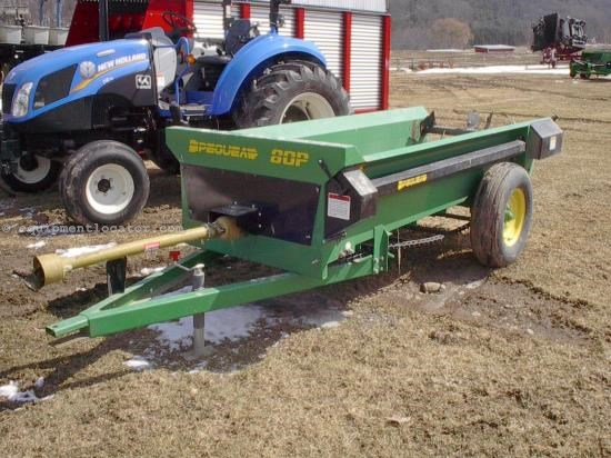 Manure Spreader-Dry/Pull Type For Sale:  2009 Pequea 80P