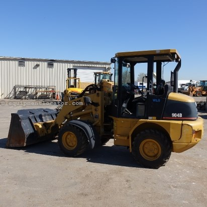 2007 Caterpillar 904B, 56 Hp Turbocharged Diesel Engine Wheel Loader For Sale