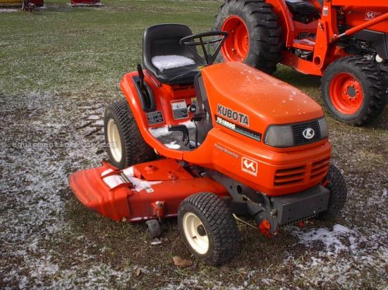 Riding Mower For Sale:  2001 Kubota TG1860GA5