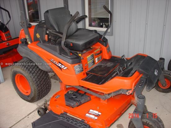 Riding Mower For Sale:  2007 Kubota ZD331