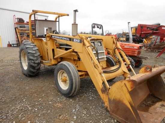 Tractor For Sale:  1968 International 240