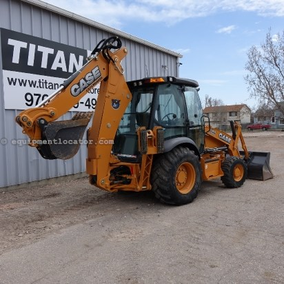 "2012 Case 580SN, 4 lever control, Extend hoe, 24"", F&R Hyd Loader Backhoe For Sale"