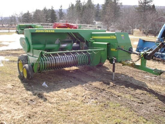 Baler-Square For Sale:  2005 John Deere 348