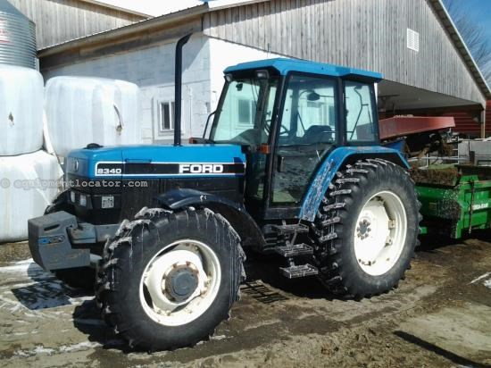 Tractor For Sale:  1995 Ford 8340