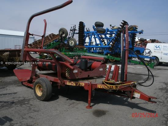 Bale Wrapper For Sale:  1998 New Holland B37P