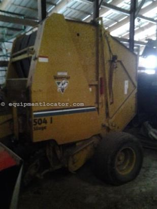 Baler-Round For Sale:  Vermeer 504I