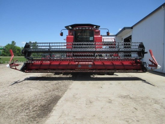 2004 Case IH 1020, 25', Plastic Finger, FT, 1688/2188/2366/2388 Header-Flex For Sale
