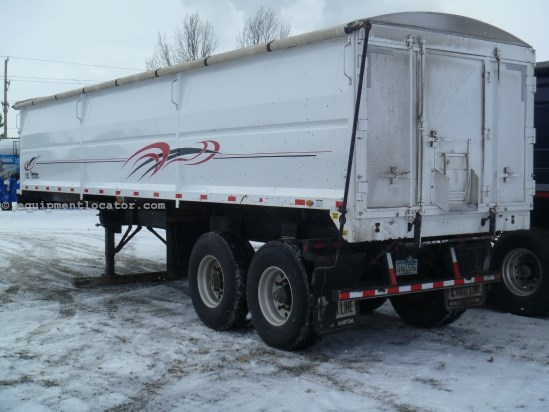 2008 Other 34, Hydraulic End Dump Trailer, Tandem Axle Equipment Trailer For Sale