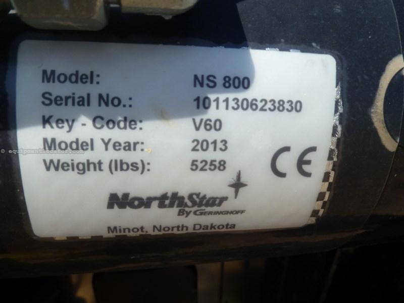 2013 Geringhoff NS830, 7120/7230/8120, HHC, Contour, Knife Rolls Header-Corn For Sale