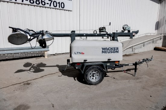 2011 Wacker LTN6L, Portable Light Tower, 3039 Hours Light Tower For Sale