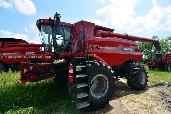 Combine For Sale:  2012 Case IH 9230, 450 Est Hours, 346500.00 USD