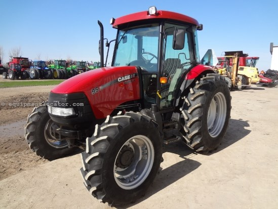 2011 Case IH Farmall 95 - 1577 hrs, CAH, 2 hyd, 540/1000, 3pt Tractor For Sale