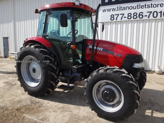2011 Case IH Farmall 95 - 1677 hrs, CAH, 540/1000, 3pt, 2 hyd Tractor For Sale