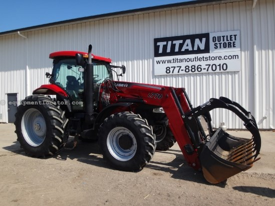 2011 Case IH Puma 165CVT w/L770 loader - 1624 hrs, Cab Susp Tractor For Sale