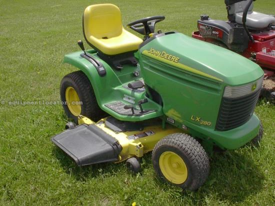 Riding Mower For Sale:  2004 John Deere LX280