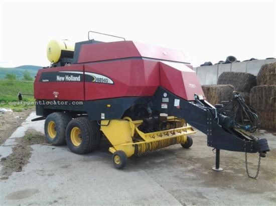 Baler-Big Square For Sale:  New Holland BB940A