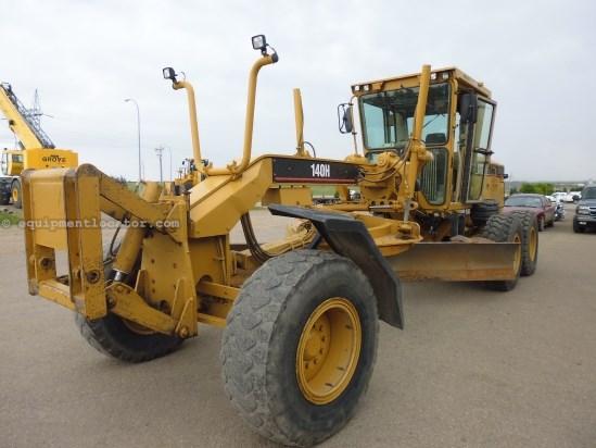 2005 caterpillar 140h 12 39 moldboard 17 5x25 tires motor