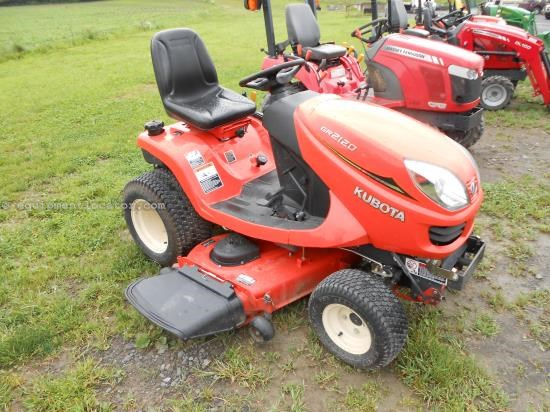 Riding Mower For Sale:  2012 Kubota GR2120