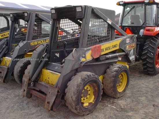 Skid Steer For Sale:  2006 New Holland L160