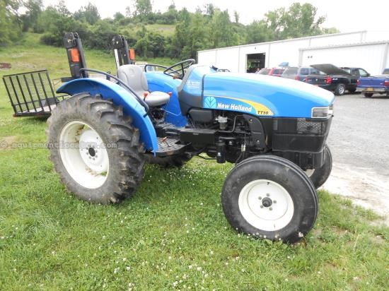 Tractor For Sale:  New Holland TT50A