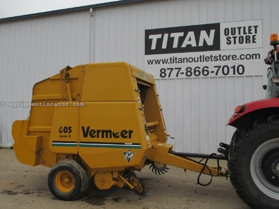 1993 Vermeer 605K, 540 PTO, Netwrap Baler For Sale