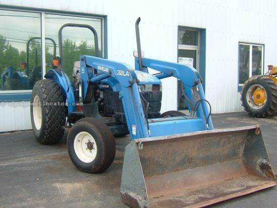 Tractor For Sale:  New Holland TN55
