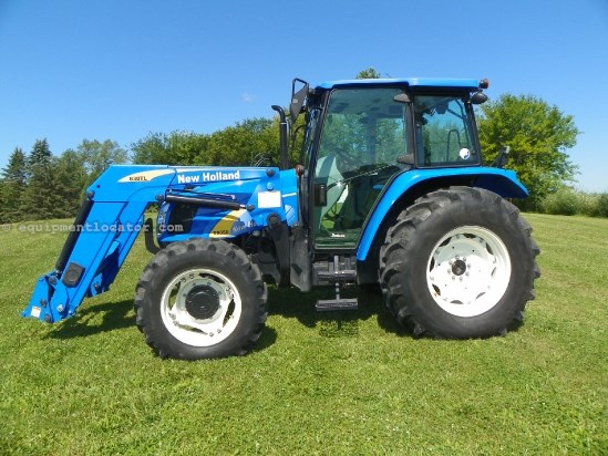 2008 New Holland T5050 Tractor For Sale at EquipmentLocator com
